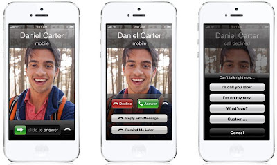improved calling features on iOS 6