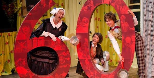 Cox & Box actors Darren Southworth, Emilia Williams, Lara Stubbs