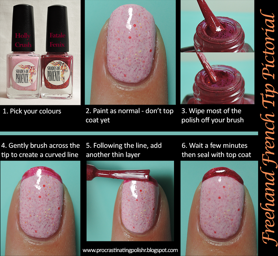 French Tip Tutorial (freehand)