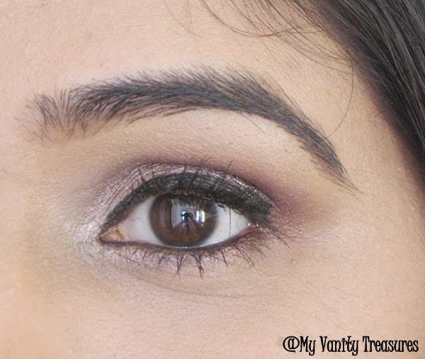Pink and Burgundy Eye Makeup Look