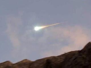 Cae supuesto meteorito en Chile, 9 de julio 2012