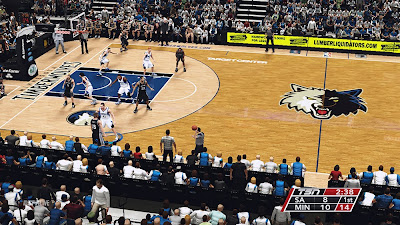 Wolves Court Patch NBA2K