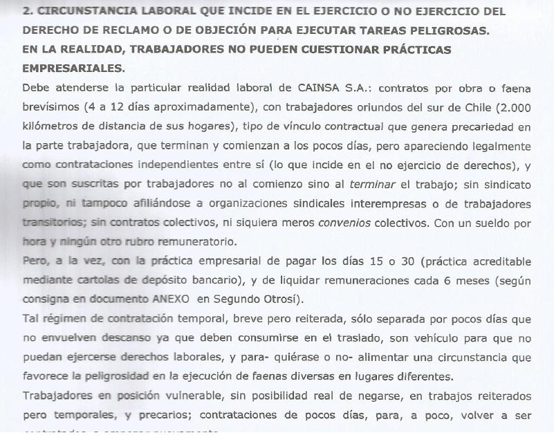 Querella criminal por muerte de Rudy Ortiz revela condiciones laborales en CAINSA-MINERA ESCONDIDA.