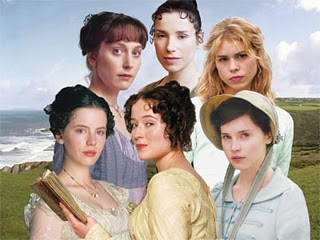 Jane Austen heroines. Image from http://thesecretunderstandingofthehearts.blogspot.co.uk/2011/04/talking-jane-austen-with-vera-nazarian.html