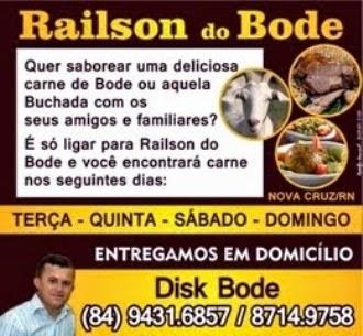 RAILSON DO BODE EM NOVA CRUZ