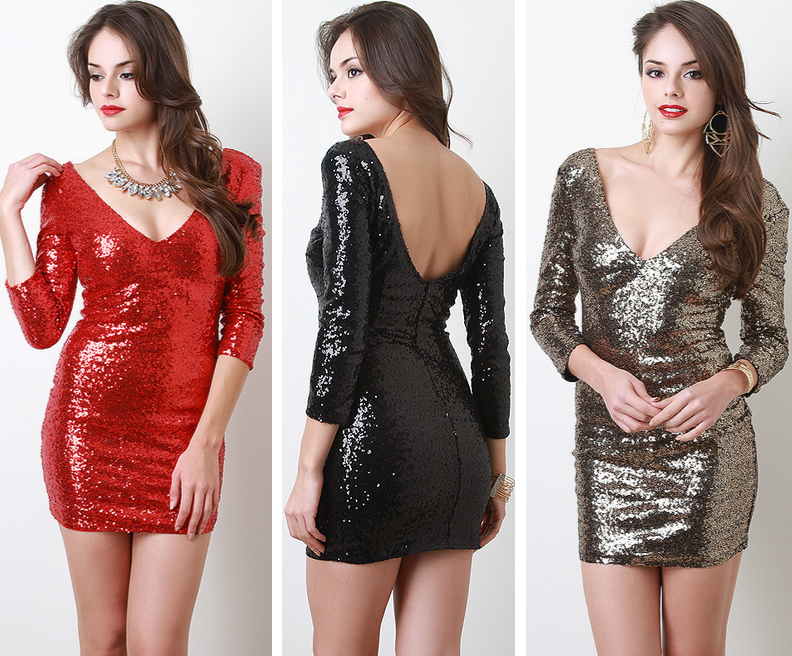 http://www.urbanog.com/Sequin-V-Neck-Long-Sleeve-Dress_101_52191.html