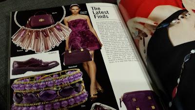 Vogue Accessory violet amethyst dodatki w odcieniach fioletu i ametystu
