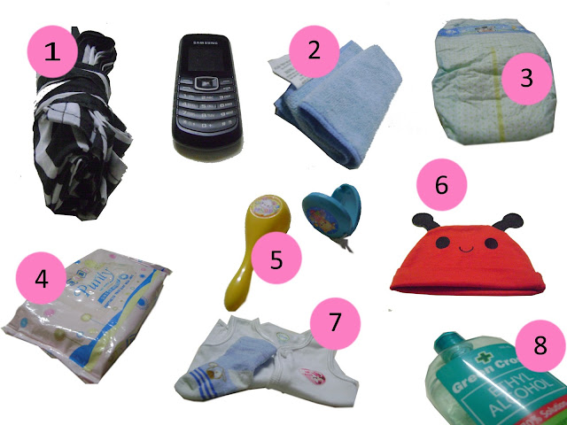 things for baby bag