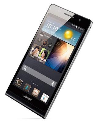 Harga dan Spesifikasi Smartphone Baru Huawei Ascend P6