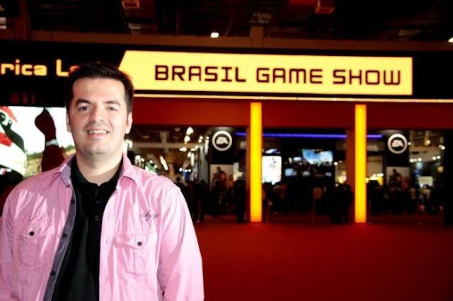 Marcelo Tavares, CEO da Brasil Game Show