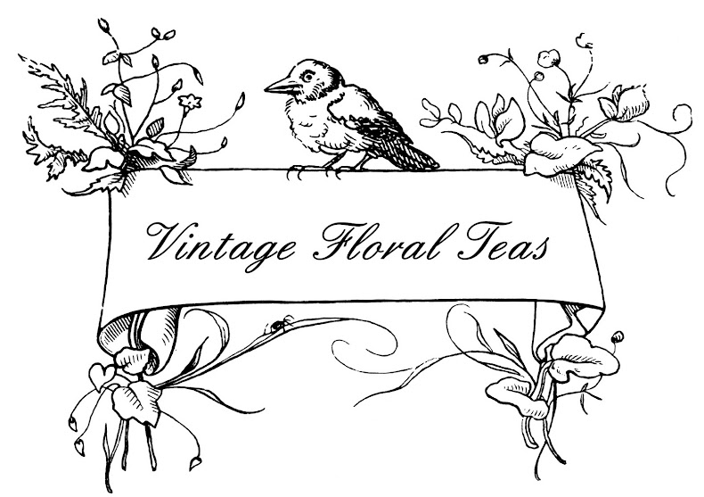 Vintage Floral Teas - Vintage China Hire in Surrey