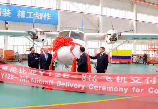 Harbin Y-12E Satena
