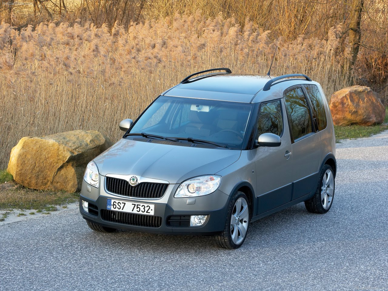 2007 skoda roomster scout. Black Bedroom Furniture Sets. Home Design Ideas