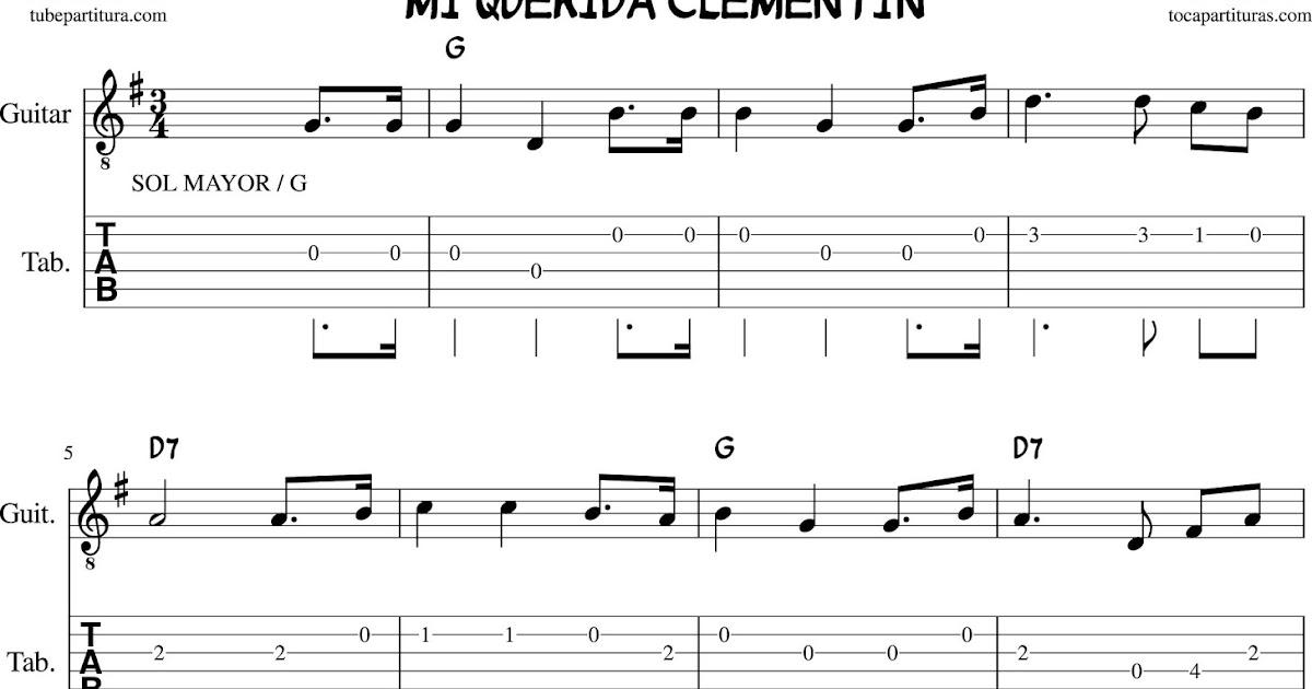 Beautiful Clementine Chords Ensign - Beginner Guitar Piano Chords ...