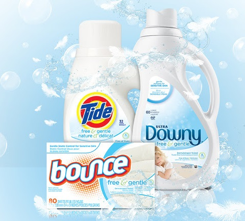Free and Gentle laundry products