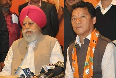 Shri S. S. Ahluwalia as BJP candidate from Darjeeling for Lok Sabha election