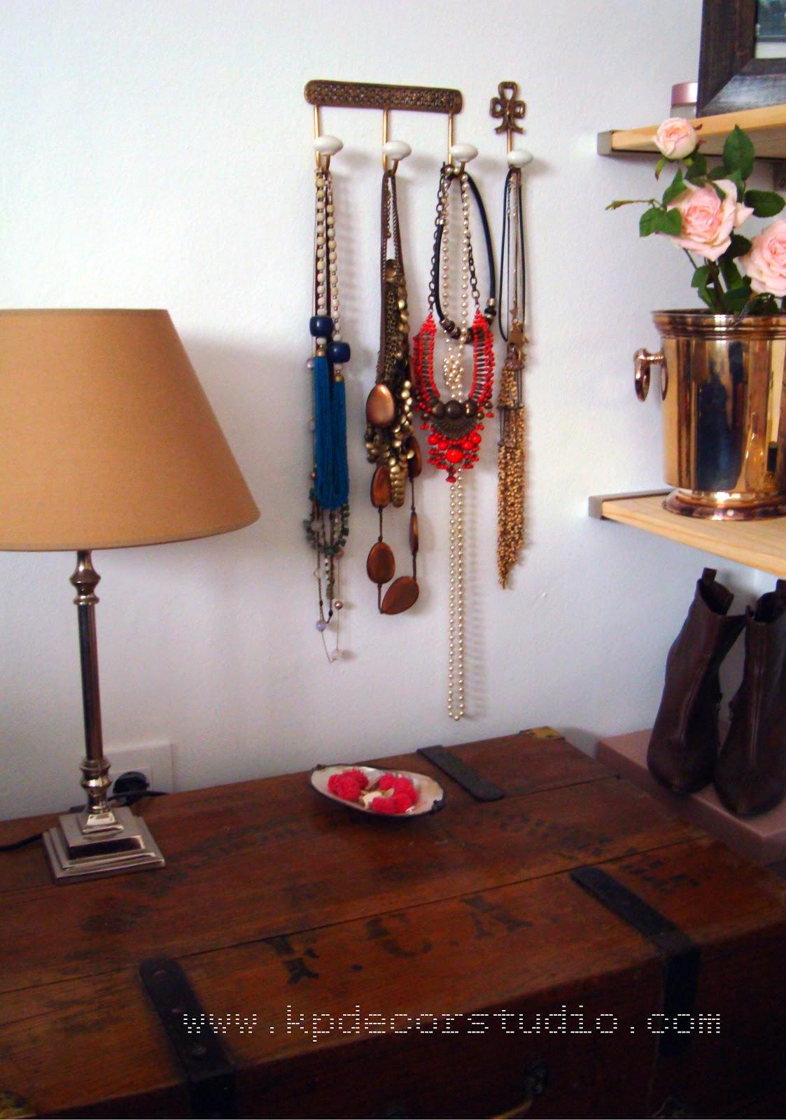 Kp decor studio conjunto de colgadores antiguos en hierro - Colgador de collares ikea ...
