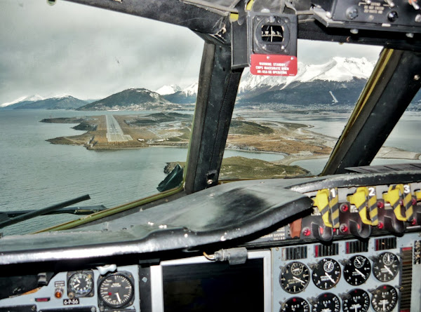 La EA6E operando en zona austral