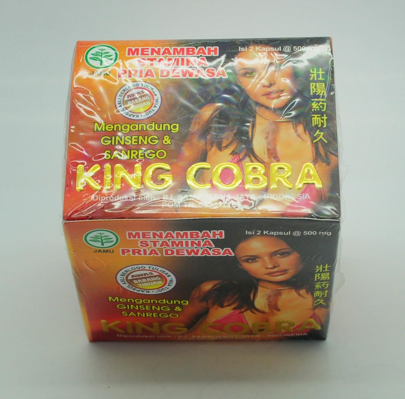 obat kuat harga murah kapsul king cobra jamu kuat seks herbal