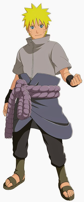 Naruto Storm Revolution Collector's Edition Naruto in Sasuke Costume