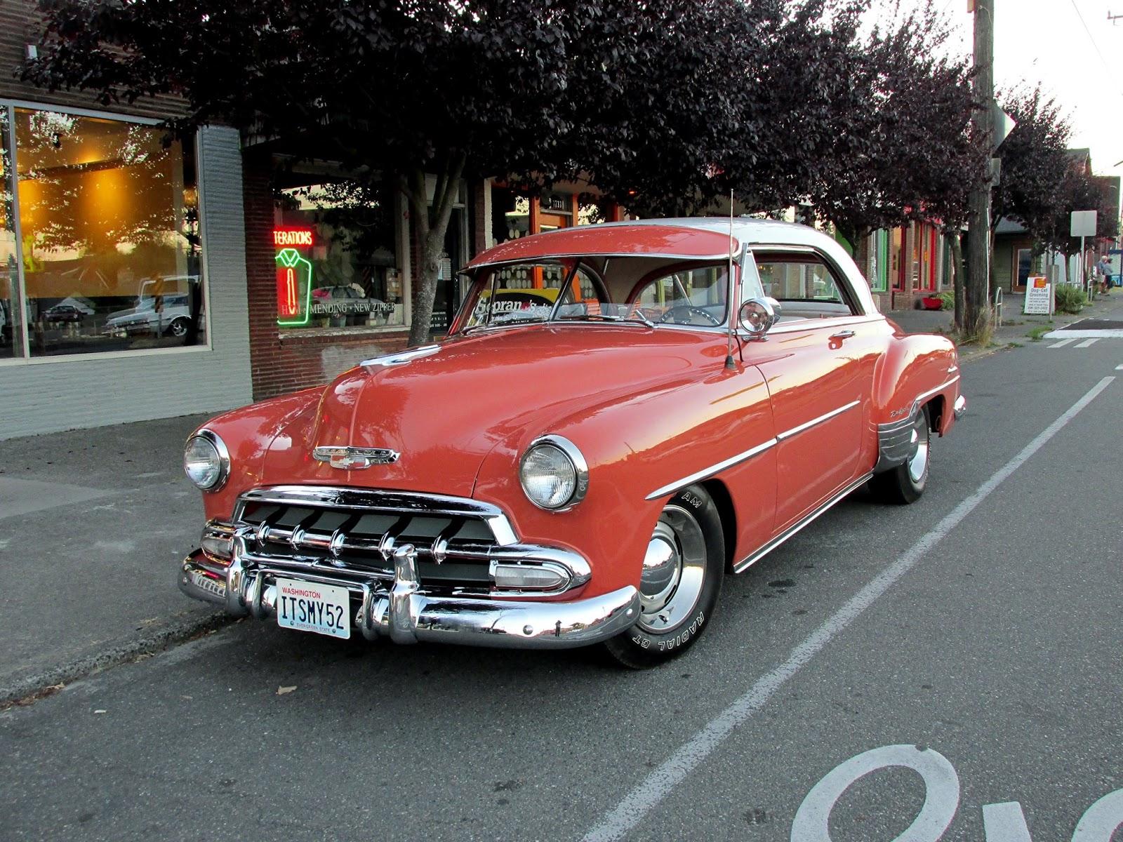 Seattle 39 s classics 1952 chevrolet deluxe hardtop for 1952 chevy 2 door hardtop