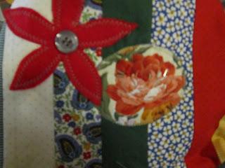 heavenlyhandmade jelly roll applique bag