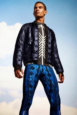 ropa deportiva H&M Sport para hombre colección Go Gold