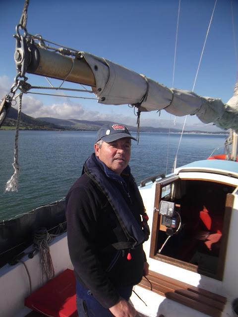 On my boat, ZIG  ZAG