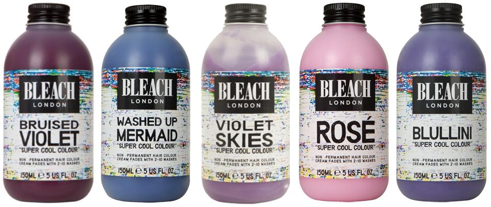 Review Bleach London Temporary Hair Dye