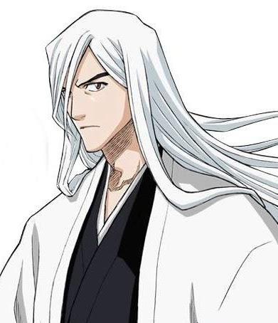 Anime Manga Jushiro Ukitake