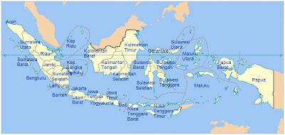 Nama-Nama Ibukota dan Provinsi di Indonesia