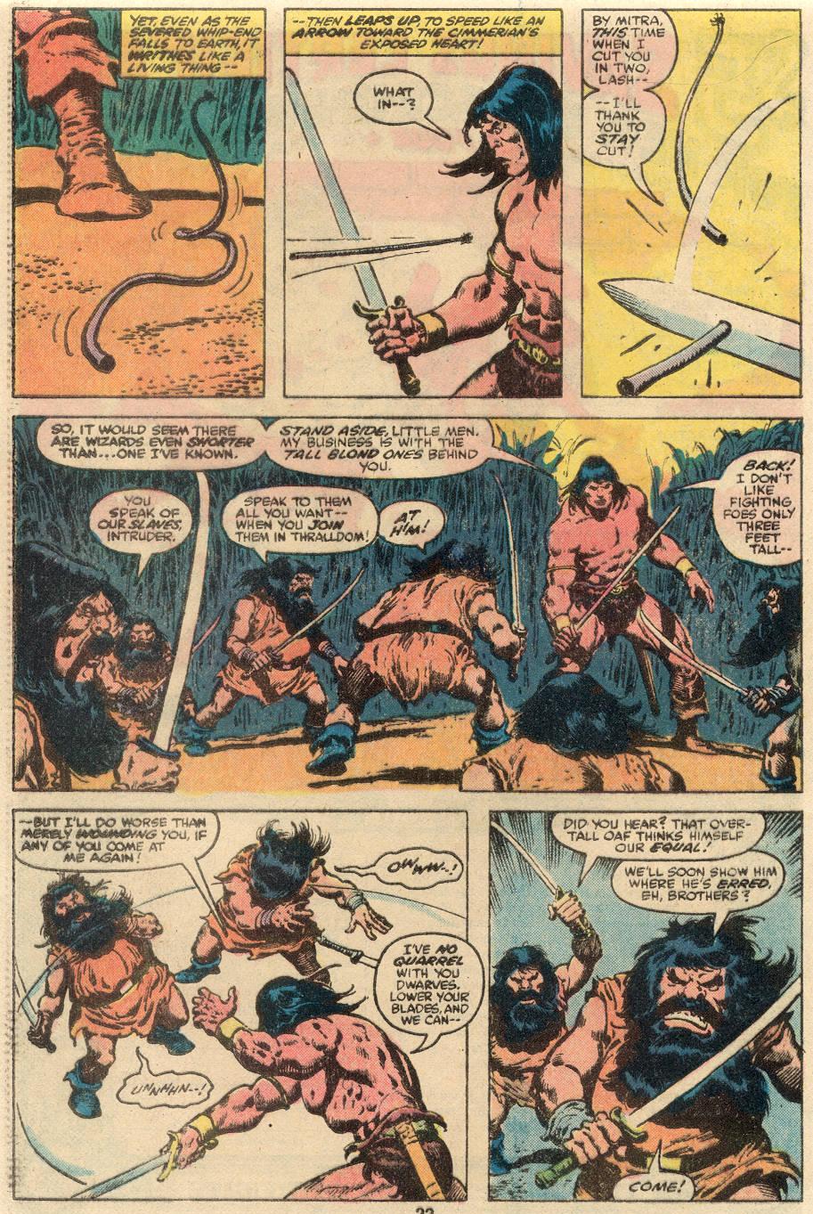 Conan the Barbarian (1970) Issue #109 #121 - English 14