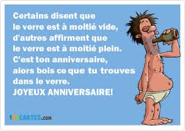Citation Anniversaire Humour