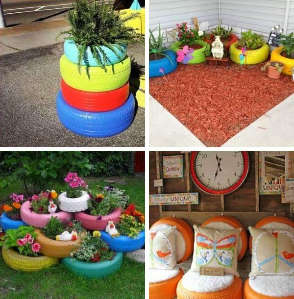 Bricolaje en el jard n reciclar para crear objetos tiles for Bricolaje para jardin