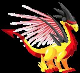 imagen del dragon laser adulto