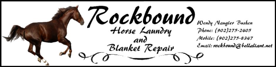 ROCKBOUND HORSE LAUNDRY