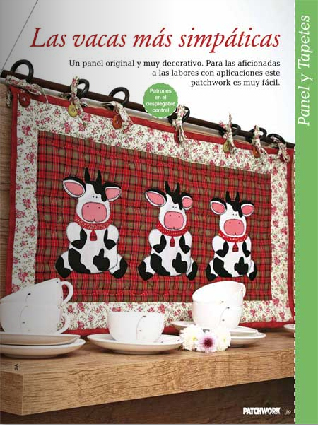 Patchwork en casa patchwork with love revista n 6 de - Patchwork en casa ...