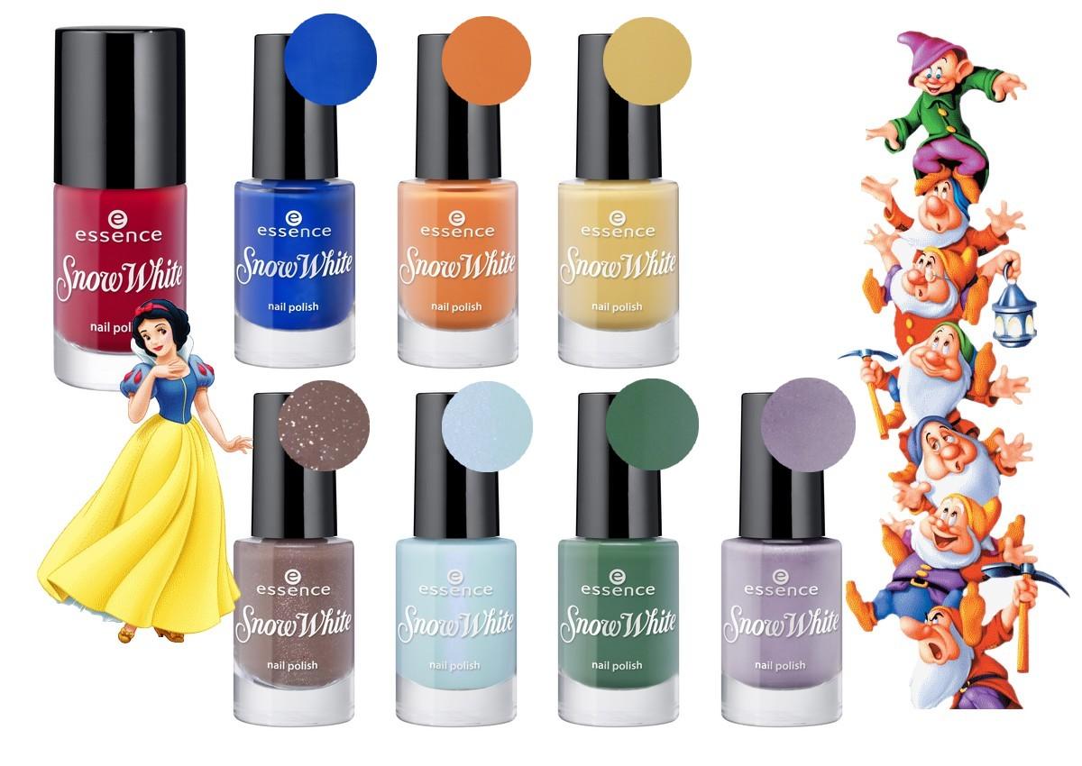 "essence trend edition ""snow white"" - Nailderella"