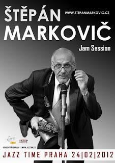 Štěpán Markovič v clubu Jazz Time