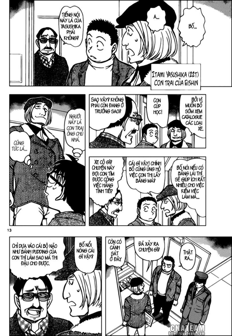 Detective Conan - Thám Tử Lừng Danh Conan chap 848 page 14 - IZTruyenTranh.com