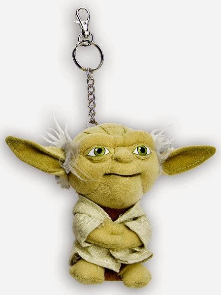 Peluche Llavero Yoda