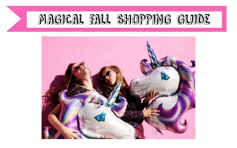 magical fall shopping guide