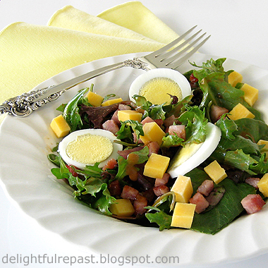 Ham and Egg Salad - When You Just Don't Want to Cook