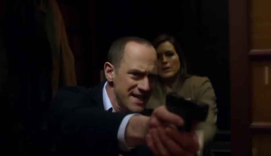 Did stabler and benson ever hook up