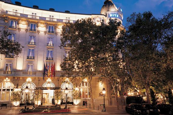 hoteles de lujo centro madrid