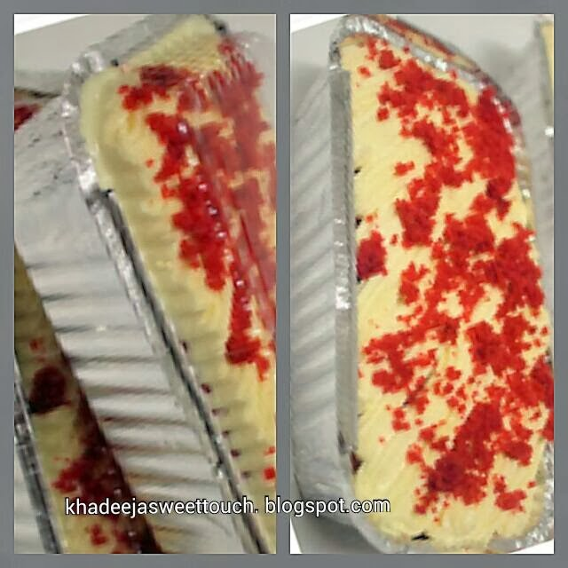 Budget Cake (in aluminium foil with cover)
