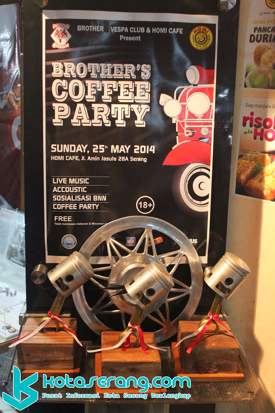 Brother's Coffee Party