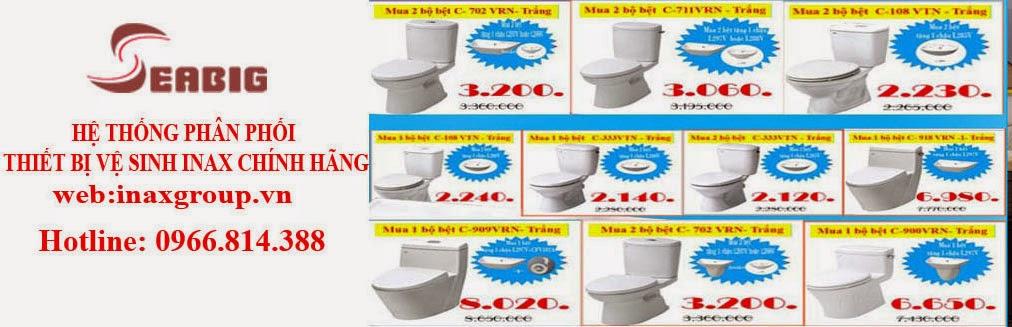 Thiết bị nhà vệ sinh giá rẻ nhất Hà Nội