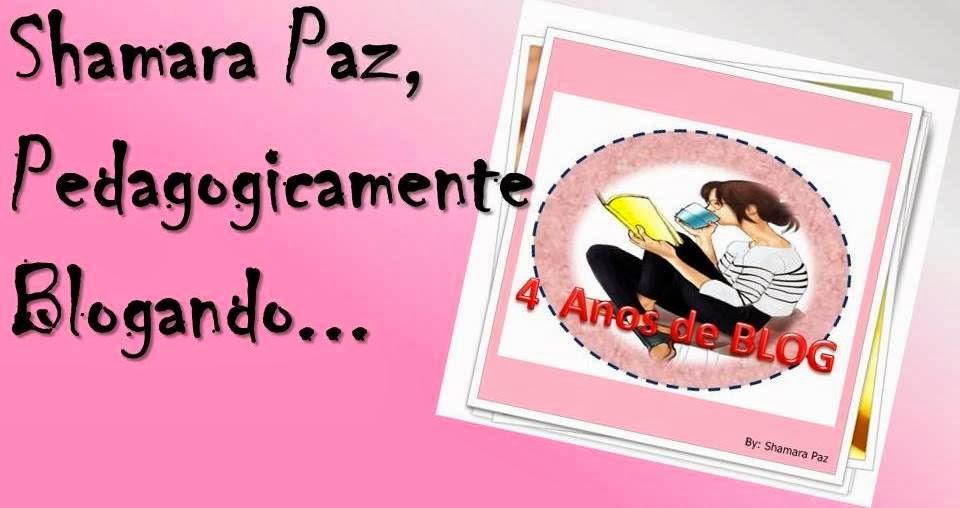 Shamara Paz, Pedagogicamente Blogando!