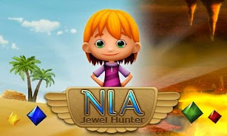 Screenshots of the Nia: Jewel Hunter for Android tablet, phone.